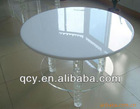2012 special offered exquisite clear acrylic coffee table and chair
