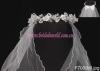 princess crown with veil/communion veil