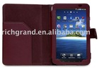 Leather skin Case cover For samsung Galaxy Tab GT-P1000