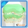 New Green Belly Dance Hip Scarf Costume (128 Golden Coins)