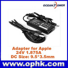 Replacement AC DC Adapter for Apple 24V 1.875A