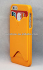 New Hard Back Protective Card Slot Holder Skin Cover Case for Apple iPhone 5 5G