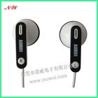 white mp3 earphone