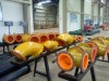 antiabrasion rubber lined pipe