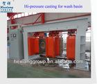 hi-pressure casting machine for washbaisn