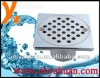 Heavy duty zinc floor drain with round hole for south america market