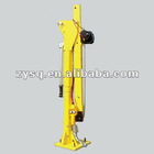 heavy duty electric hoist frame