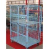JS Four vertical doors trolley, Supermarket storage rolling cart