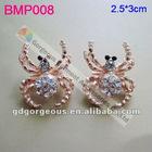 spider rhinestone brooch pins