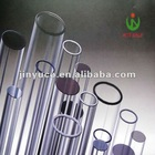 Iso qualified clear quartz tubes for led lamp