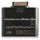 5+1 in 1 USB Camera OTG Connection Kit TF/SD Card Reader for SAMSUNG GALAXY Tab