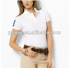 short sleeve women's polo shirt
