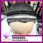 Elastic rhinestone headbands hair band