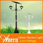 2X15W High Lumen Solar Garden Lights IP65 For Outdoor Lighting Luminaire
