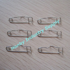 32mm Badge Using Steel Crimp Safety Pin
