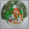 HD-P14004 Frosty the Snowman design paper plate for party accessory (zyl)
