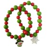 christmas gift--wood bead bracelet