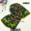 Best-selling Unisex Girl's Boy's Winter Knitted Christmas Scarf