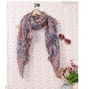 cheap fashion scarf print flower