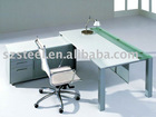 Modern office furniture with mobile caddy unit
