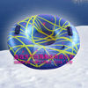 PVC infatable single round series darkblue snowing Tubing EN71 approved