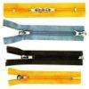 long chain nylon zipper