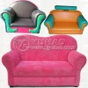 Luxury Children's Pu 2 Seater Sofa