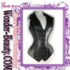 Black sexy jacket corset