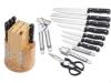 15PC kitchen knife set
