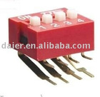 right angle type dip switch