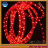 Very popolar round 2 wires LED rope lights for decoration