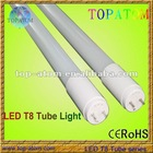 190V-240V input 1.2M 4 Feet LED T8 with Samsung LED