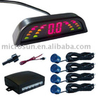 LED display car parking sensor system