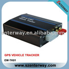 Real-time GPS/GPRS/SMS vehicle tracker