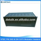 JM-50161 CATV Headend NTSC, PAL B/G & D/K 16 in 1 Fixed Frequency Modulator with Combiner broadcast equipment