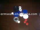 HPCL sample vial with cap and septum