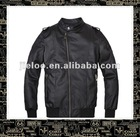 Spring new arrival mens stand-collar black leisure classic jacket 11JK04
