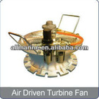 Pneumatic Turbine Fan