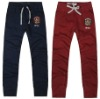 Custom embroider cotton sweatpants