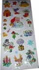 puffy sticker for christmas promational