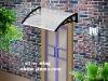 Window awning bracket