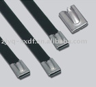 PVC Coated Stainless Steel Cable Tie(Ball lock BZ-C series)