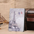New Retro Old Paris LA Tour Eiffel Tower Leather stand Case For iPad Mini