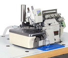 Automatic cutting facility for PEGASUS overlock machine