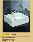 2012 noble ceramic art basin D-311