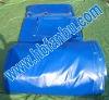 blue color pvc tarpaulin