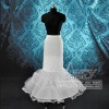 high quality white fishtail wedding petticoat PCY002
