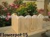 wooden decorative garden Flowerpot-15