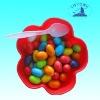 fruit flavor round bubble gum