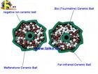 Tourmaline, Maifan Stone, Negative Ion, Far-infrared Ceramic Ball For Laundry Ball
